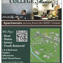 Msu Interactive Map Map U2014 College Manor Apartments