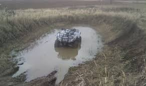 mudding four wheelers how to make a good mud pit arcticchat com arctic cat forum