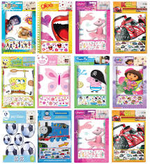 disney stikarounds wall stickers self adhesive removable childrens click to close full size