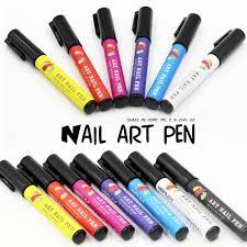 aliexpress com buy nail art diy decoration nail polish pen set