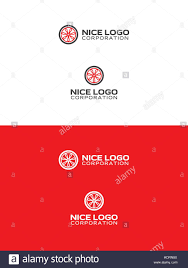 citroen logo vector car wheel logo red color tire logotype stock vector art