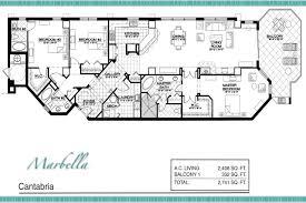 marbella condos floor plan 3343 s atlantic ave 32118 daytona