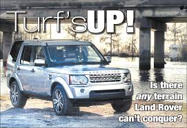lr4 land rover off road turf u0027s up is there any terrain land rover can u0027t conquer nola com