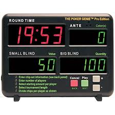 Blinds Timer Amazon Com Poker Genie Home Tournament Manager Timer Sports