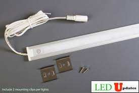 installing under cabinet led lighting under cabinet white led light u3014 series with touch on off dim