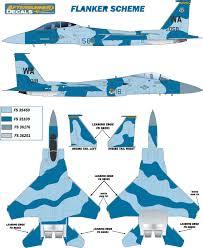mcdonnell douglas f 15c d eagle flanker aggressor color profile