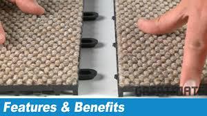 interlocking carpet tiles carpet flex floor tiles youtube