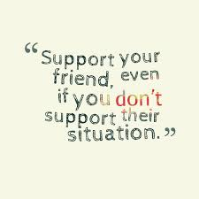 that is what being friends means always being there and