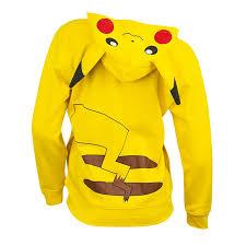 pikachu costume youth yellow pikachu costume hoodie superheroden