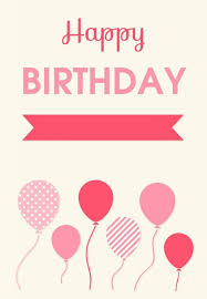 birthday card print best free printable birthday cards for her him