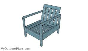 Free Woodworking Plans Outdoor Chairs by Free Outdoor Chair Plans Myoutdoorplans Free Woodworking Plans