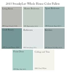 sherwin williams whole house color palette google search