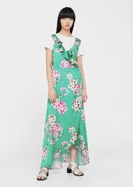 floral print flowy dress endource