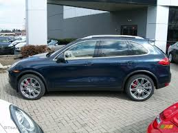 2011 Porsche Cayenne - 2011 dark blue metallic porsche cayenne turbo 46546174 photo 8