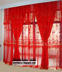 adorable red sheer curtains and modern sheer curtain panels