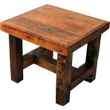 How To Make End Tables Wooden by 6 Reclaimed Wood Projects For Your Home And Land