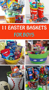 ideas for easter baskets for toddlers 11 easter basket ideas for boys non gifts