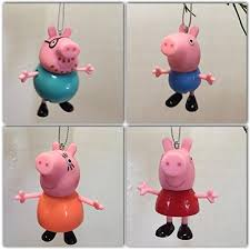peppa pig family ornament set everything else