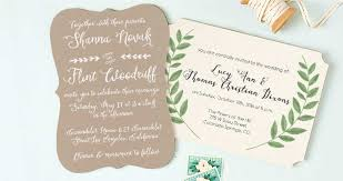wedding invitation sles sle