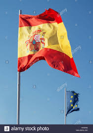 The Flag In Spanish Euro Symbol With The Spanish Flag Spain Stock Photos U0026 Euro Symbol