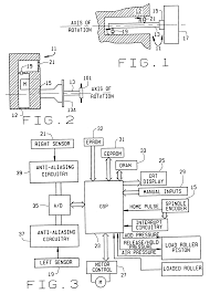 patent us6439049 wheel balancer with control circuit for