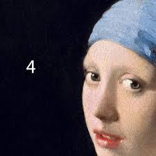 vermeer pearl earring vermeer girl with a pearl earring colourlex