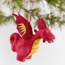 paper ornaments set of 4 world market