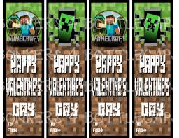 minecraft s day cards 5 best images of cool free printable minecraft bookmarks minecraft