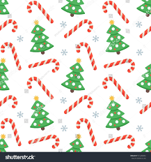 flat christmas wrapping paper seamless flat christmas pattern candy stock vector 511646284