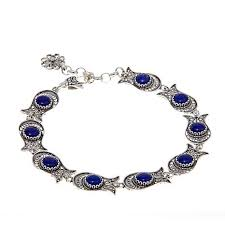 ottoman silver jewelry collection blue lapis
