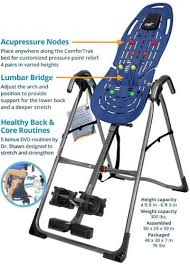 inversion therapy table benefits how inversion table increases aid in faster weight loss