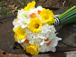 daffodil wedding bouquet the next bouquet featured king alfred