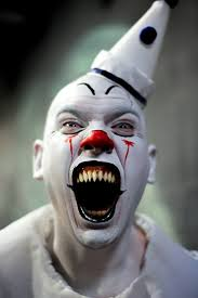 Scary Halloween Clown Costumes 25 Scary Clowns Ideas Halloween Clown Scary