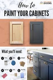how to paint unfinished cabinets painting cabinet doors can be a bit different from other