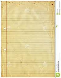 lined writing paper with picture space blank lined vintage a4 paper isolated on white royalty free stock background blank isolated lined paper
