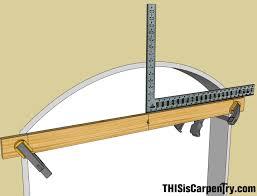 making radius trim on the jobsite thisiscarpentry