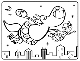 dinosaur tooth fairy coloring sheet parents scholastic