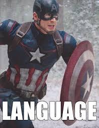 Captain America Meme - captain america language meme on imgur