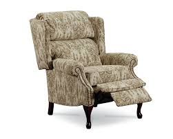 lane savannah high leg recliner nailhead trim lane furniture