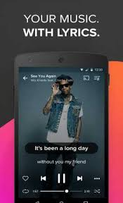 musicxmatch apk musixmatch lyrics 6 8 1 apk for android android
