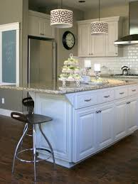 granite top kitchen islands kitchen customize your kitchen with a painted island hgtv white