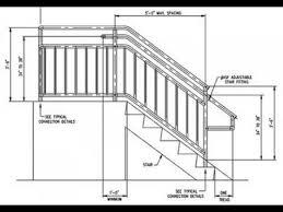 Deck Stair Handrail Exterior Stair Handrail Code A More Decor