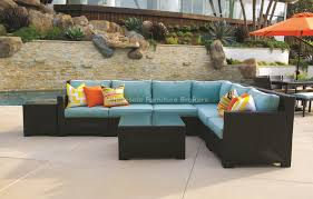 Outdoor Patio Furniture Sectional Valencia Outdoor Furniture Simplylushliving