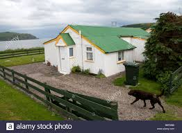 prefab house cromarty scotland stock photo royalty free image