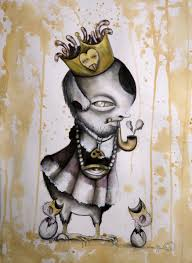 King Of The Blind Angie Mason Playful Visions Art