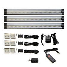 under kitchen cabinet lighting wireless hardwired led under cabinet lighting home improvement design
