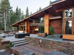 mountain house exterior home design ideas remodels photos