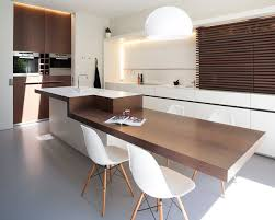 Kitchen Island As Dining Table Best 25 Breakfast Bar Table Ideas On Pinterest Kitchen Bar