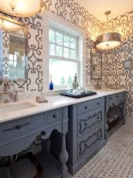 Eclectic Bathroom Ideas Gray And Blue Bathroom Ideas Eclectic Bathroom Hendel Homes