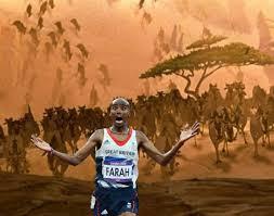 Meme Mo - olympics 2012 mo farah running away from things memes